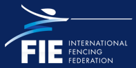 logo for Fédération internationale d'escrime