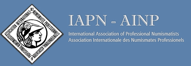 logo for International Association of Professional Numismatists