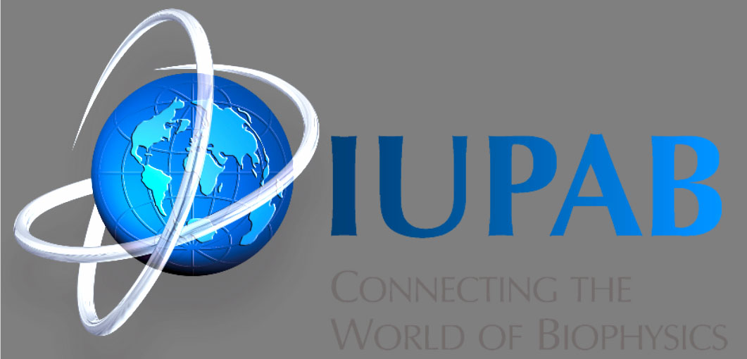 logo for International Union for Pure and Applied Biophysics