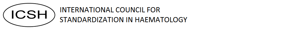 logo for International Council for Standardization in Haematology