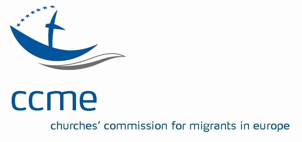 logo for Churches' Commission for Migrants in Europe