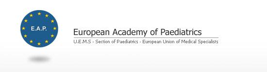logo for European Academy of Paediatrics