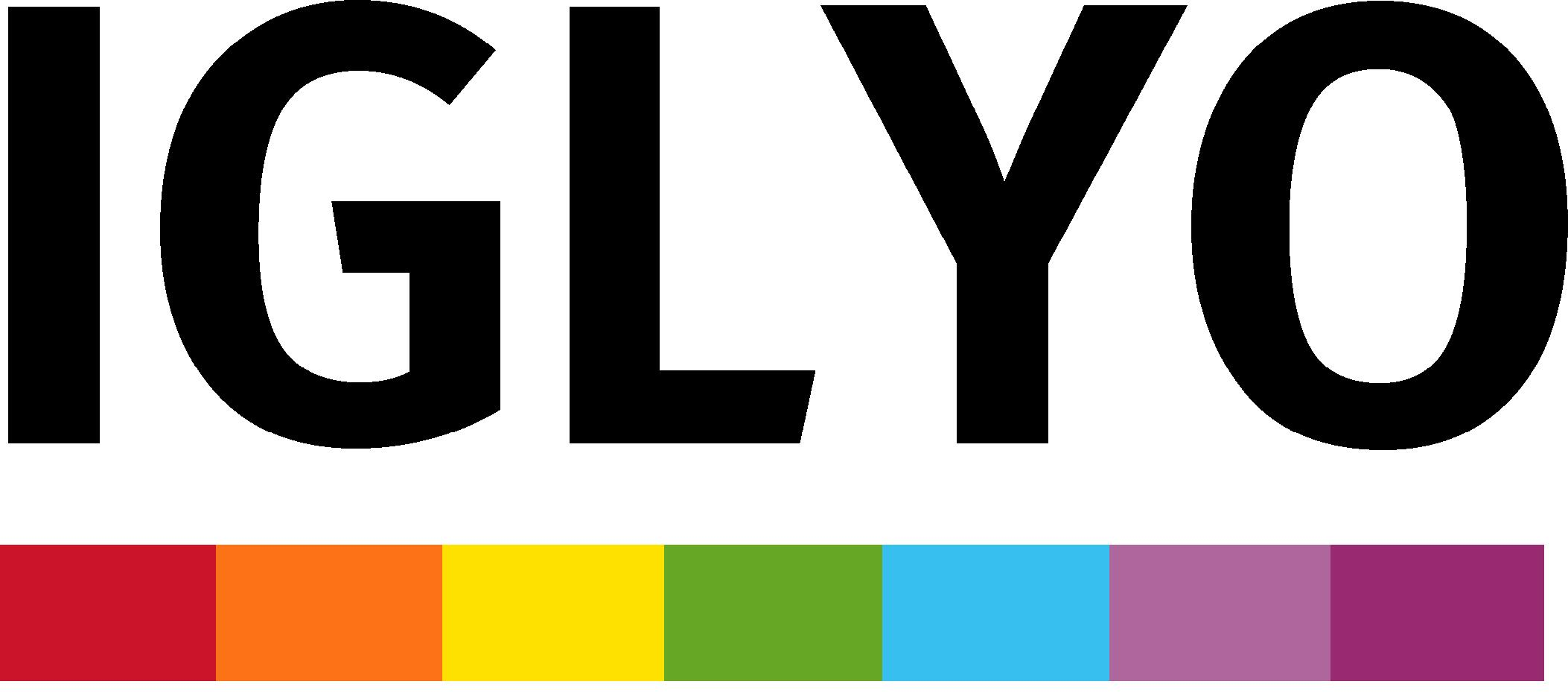 logo for International Lesbian, Gay, Bisexual, Transgender, Queer and Intersex Youth and Student Organization