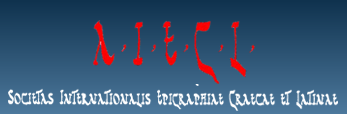 logo for International Association for Greek and Latin Epigraphy