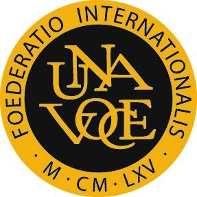 logo for Fédération internationale Una Voce