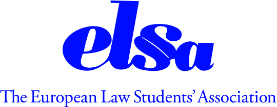 logo for The European Law Students' Association