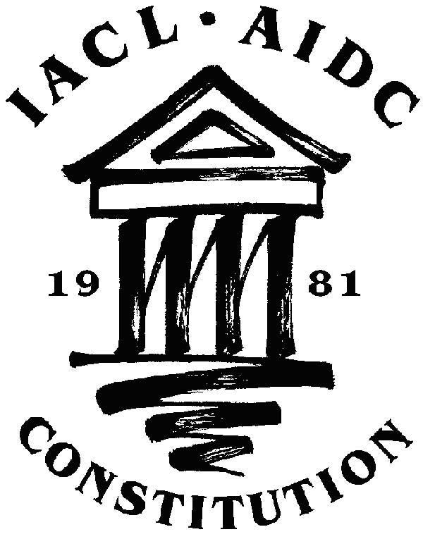 logo for International Association of Constitutional Law