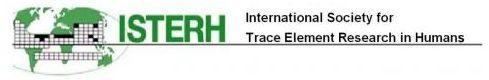 logo for International Society for Trace Element Research in Humans