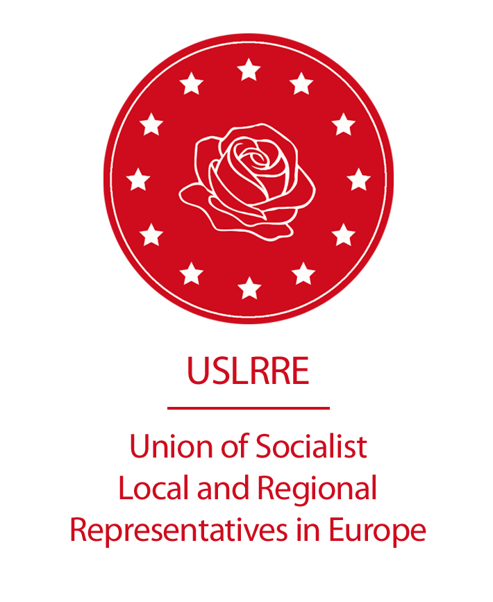 logo for Union of Socialist Local and Regional Representatives in Europe
