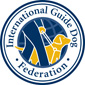 logo for International Guide Dog Federation