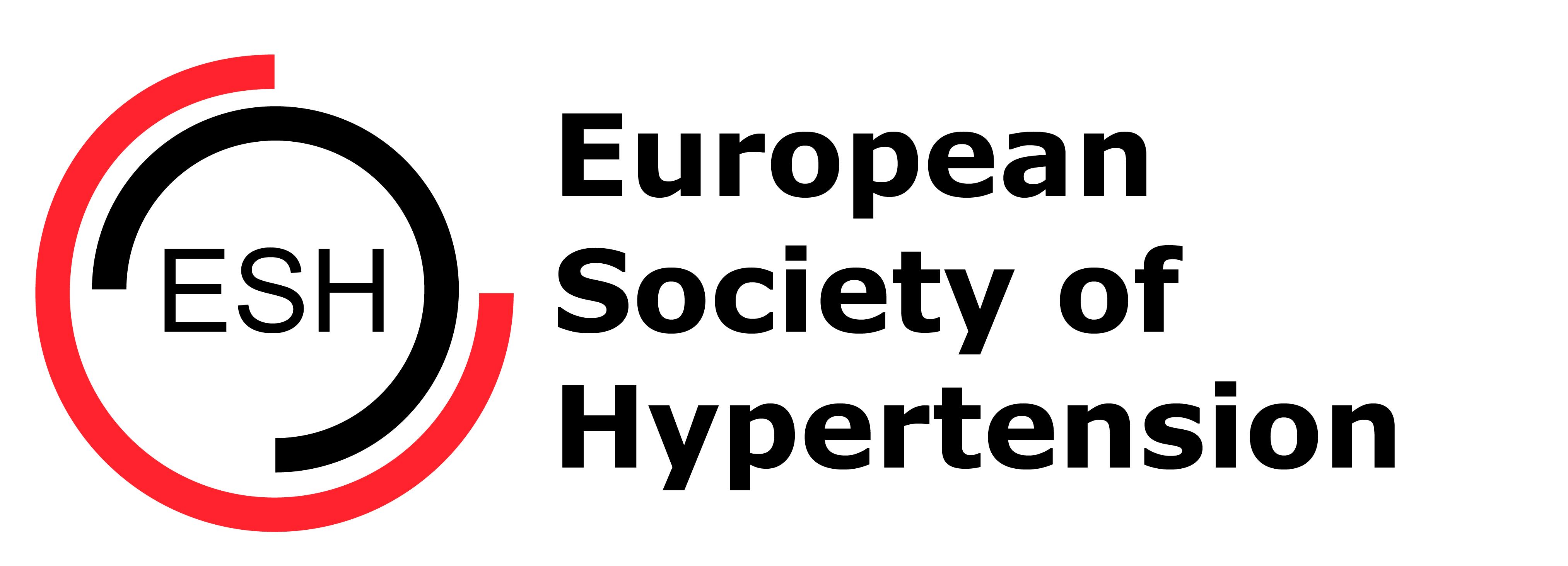 logo for European Society of Hypertension