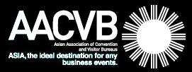 logo for Asian Association of Convention and Visitor Bureaus