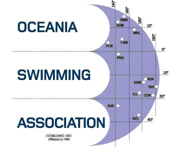 logo for Oceania Swimming Association