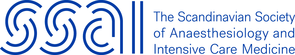 logo for Scandinavian Society of Anaesthesiology and Intensive Care Medicine