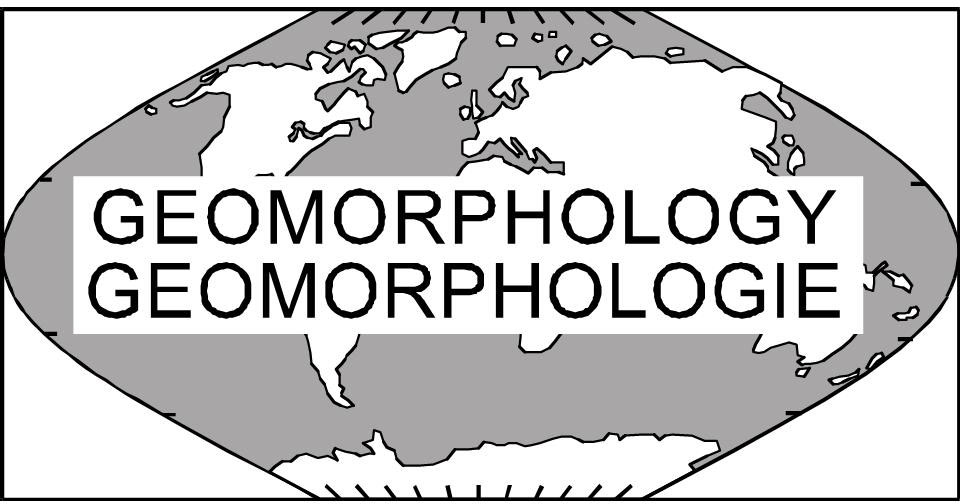 logo for International Association of Geomorphologists