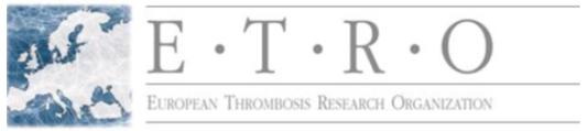 logo for European Thrombosis Research Organization