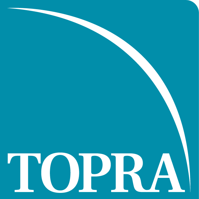 logo for TOPRA - The Organization for Professionals in Regulatory Affairs