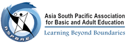 logo for Asia South Pacific Association for Basic and Adult Education