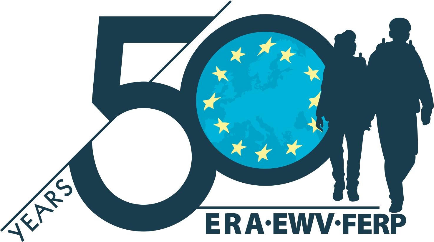 logo for European Ramblers' Association