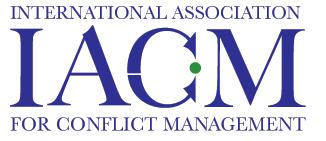 logo for International Association for Conflict Management