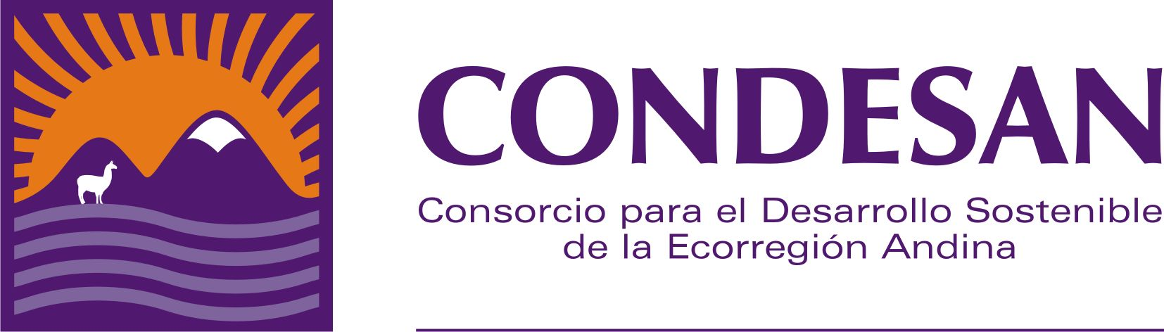logo for Consortium for the Sustainable Development of the Andean Ecoregion