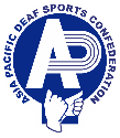 logo for Asia Pacific Deaf Sports Confederation