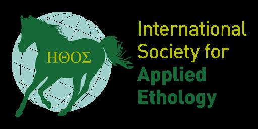 logo for International Society for Applied Ethology