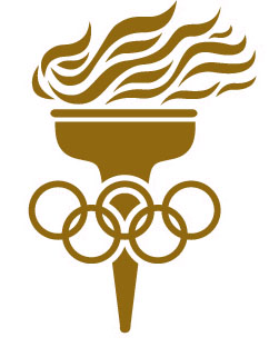 logo for World Olympians Association