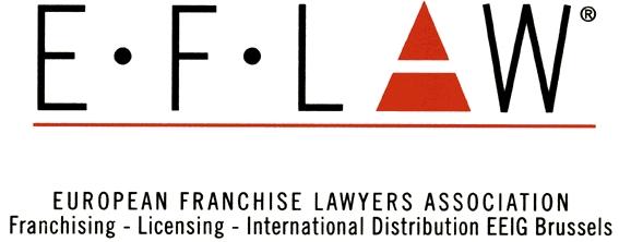 logo for European Franchise Lawyers Association