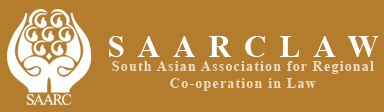 logo for South Asian Association for Regional Cooperation in Law