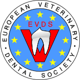 logo for European Veterinary Dental Society