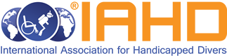 logo for International Association for Handicapped Divers