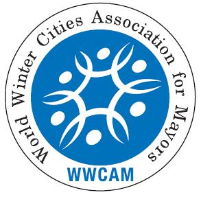 logo for World Winter Cities Association for Mayors