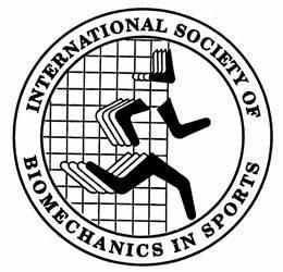 logo for International Society of Biomechanics in Sports