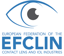 logo for European Federations of the Contact Lens and IOL Industries