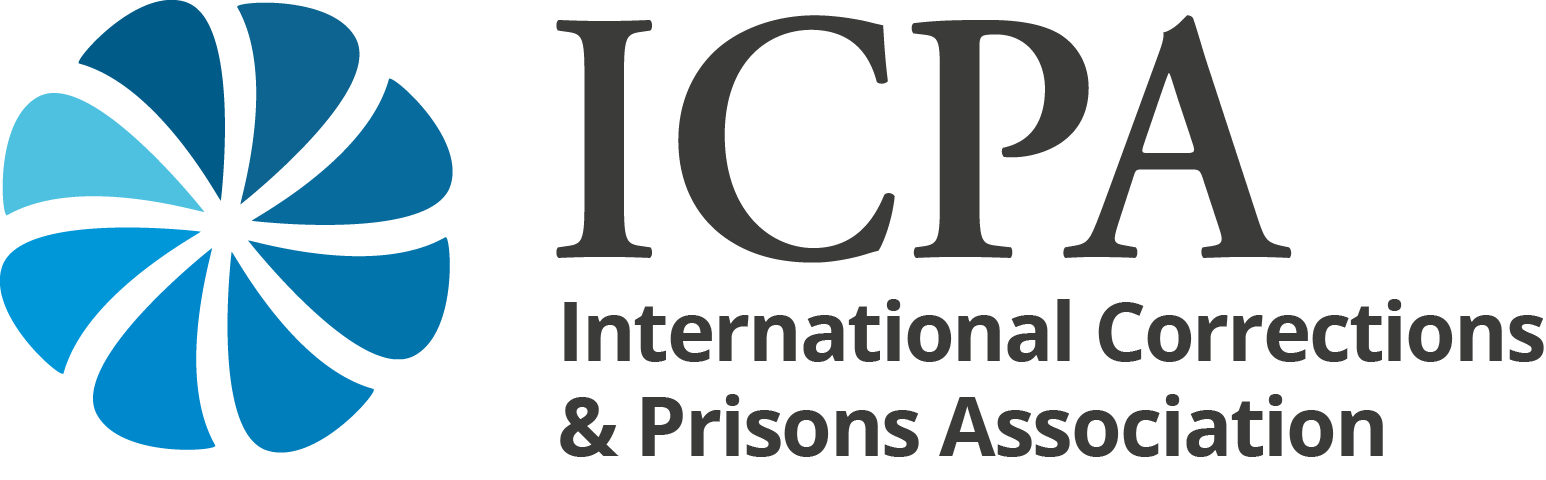 logo for International Corrections and Prisons Association for the Advancement of Professional Corrections