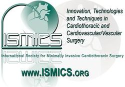 logo for International Society for Minimally Invasive Cardiothoracic Surgery