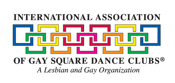 logo for International Association of Gay Square Dance Clubs