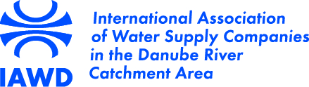 logo for International Association of Water Supply Companies in the Danube River Catchment Area