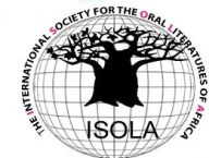 logo for International Society for Oral Literatures of Africa