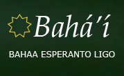 logo for Bahaa Esperanto-Ligo