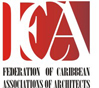 logo for Federation of Caribbean Associations of Architects