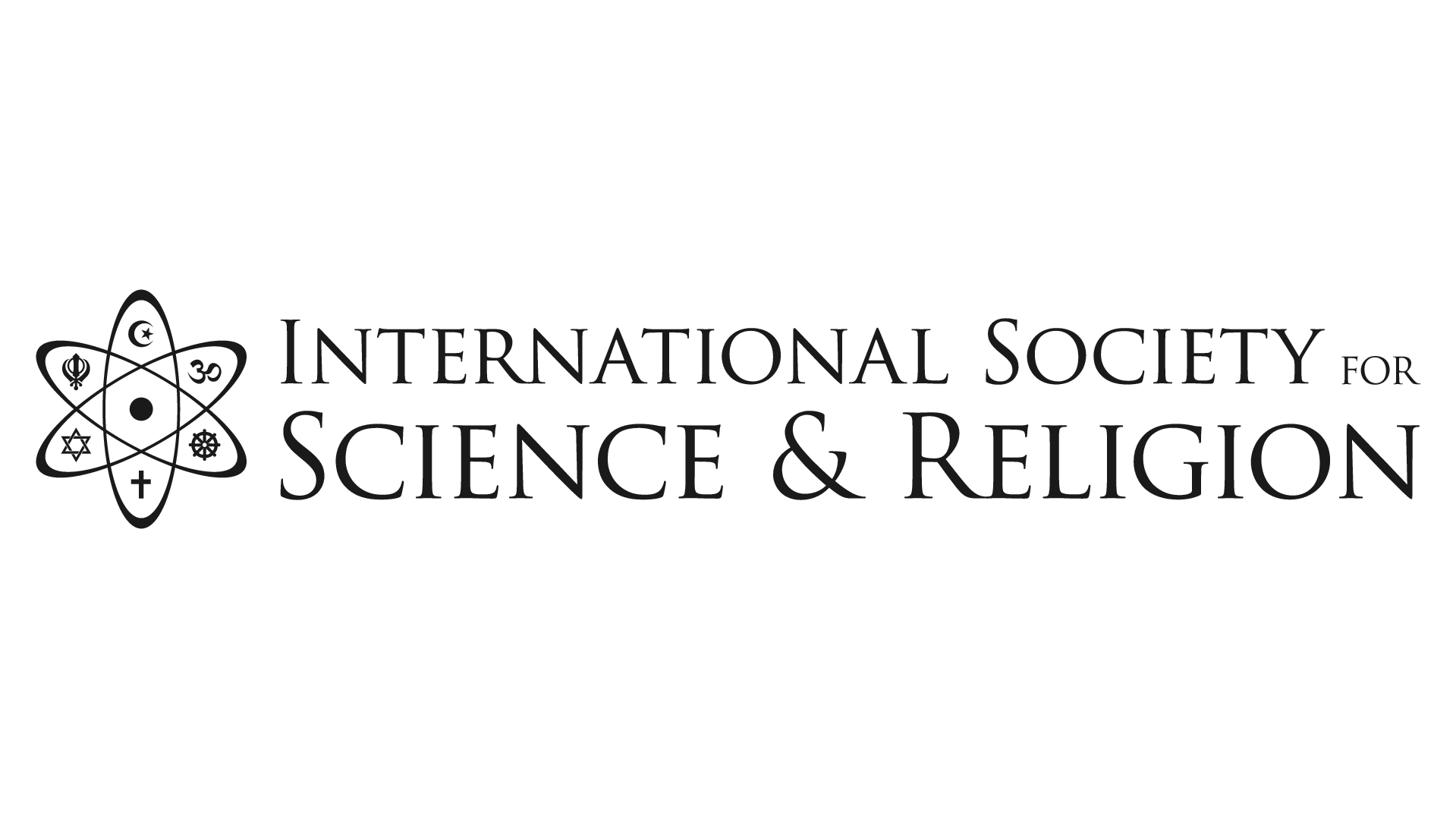 logo for International Society for Science  and  Religion