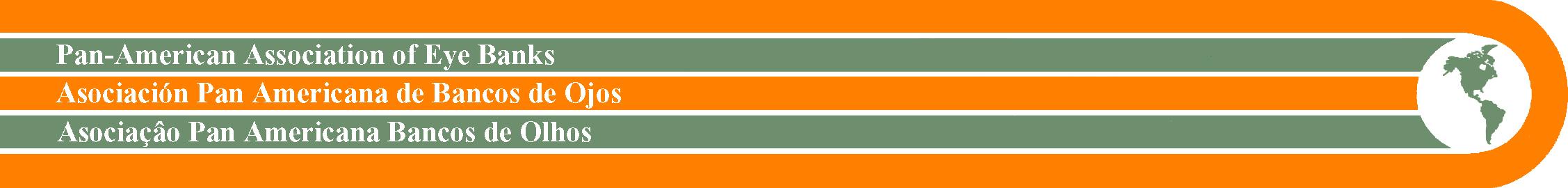 logo for Asociación Pan Americana de Bancos de Ojos