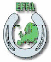 logo for European Federation of Farriers Associations