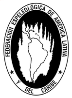 logo for Speleological Federation of Latin America and the Caribbean