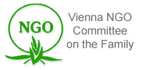 logo for Vienna NGO Committee on the Family