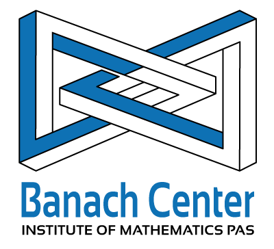 logo for Stefan Banach International Mathematical Center at the Institute of Mathematics of the Polish Academy of Sciences