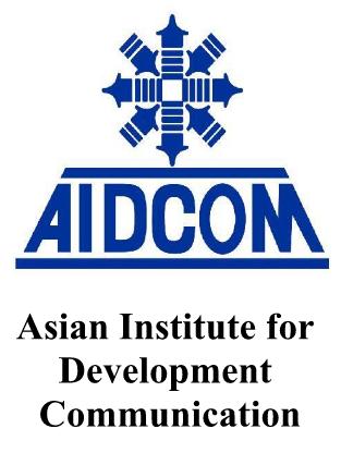 logo for Asian Institute for Development Communication