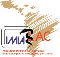 logo for International Medical Informatics Association for Latin America and the Caribbean